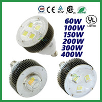 CREE 60W 100W 150W 200W 300W 400W LED E27 E40 gancho de alta luz de la bahía Tienda Nave Industrial lámpara de iluminación del supermercado Garantía 5 años