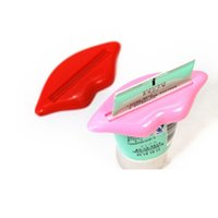 Wholesale Sexy Hot Lip Kiss Bathroom Tube Dispenser Tooth Paste Toothpaste Cream Pasta De Dientes Squeezer