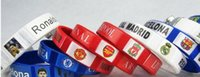 Wholesale 2016 Brazil world cup Football Sports Souvenir Bracelet Silicone Silicon Gel wristbands Wrist Band Bracelets Football Sports Games Souvenir