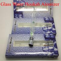Cheap Newest Pyrex Glass Water Atomizer Hookah Pen Smoking Pipes E Cig Tank Dry Herb Wax Vaporizer Glass Shisha Atomizer for EGO Evod Battery