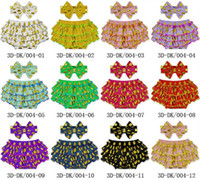 Wholesale Color Tipped Hair Styles - 2016 tipping point ruffles elastic girl culottes Baby PP pants cotton bow hair band Beach Shorts E164