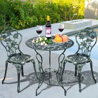 Wholesale 2015 New piece cast table and chair patio furniture garden furniture Outdoor furniture