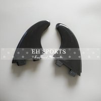 Wholesale Cheap plastic f c s surfboard fins black color G5 logo and none logo fins surf fins