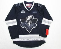 ahl jerseys - QMJHL AHL Rimouski Oceanic Premier Ice Hockey Jersey Blue white Throwback Vintage Stitched Customized any Name And Number