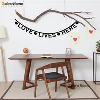 baby wall words - DIY Love Lives Here Lettler Word Wall Decal Stickers Baby Nursery Bedroom Home Decor Art Vinyl Murals Wallpaper