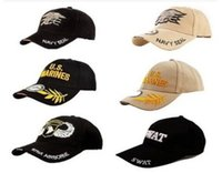 air force ball - Hot sale Sports Outdoor SWAT NAVY SEAL Marine Sun Baseball hats Military Air force Cap Snapback Hats Scarves Gloves