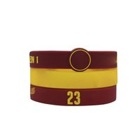 Wholesale Stylish Designer Fashion Bracelets Soft Silicone Colorful Sports Basketball Bracelets with Multi Colors for Boys and Girls E004