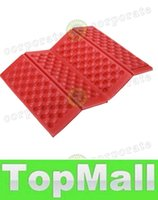Wholesale LAI Portable Foldable Folding Outdoor Camping Seat Foam XPE Waterproof Chair Cushion Mat Pad Colors