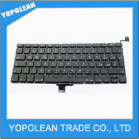 Wholesale LAPTOP KEYBOARD For MacBook Pro quot Unibody A1278 Italian Italy Tastiera IT Keyboard Black