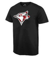 baseball apparel - New Men MLB Toronto Blue Jays Baseball T shirts Fanatics Apparel Platinum Collection Tri Blend Banner Wave Authentic Collection Short sleeve