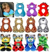 Wholesale 2016 new baby head pillow car seat cotton baby feeding sleeping pillow cartoon travesseiroinfant neck support cloud pillow
