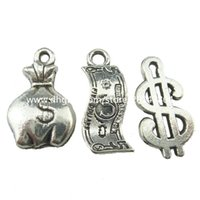 antique coin purse - 18258 Alloy Antique Silver Vintage Mini Money Bag Coin Purse Pendant