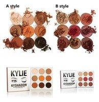 glitter kit - 2016 kylie jenner eyeshadow palette Kylie EyeShadow kylie lip kits Cosmetics Bronze KyShadow Palette eyeshadow palettes
