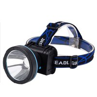 Wholesale New W LED Headlamp Head Lamp Waterproof Rechargeable Cycling Fishing Headlight Batteries Charger Set