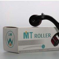 MT Derma roller con 540 Micro Needles Skin Roller Dermatología Terapia, Microneedle piel Dermaroller Varios Tamaño
