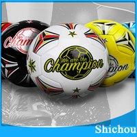 Wholesale For Children NEW WORLD CUP BRAZUCA FINAL MATCH SOCCER BALL SIZE Brasil Top Glider Match Ball Brazil soccer ball DHL