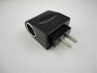 ac dc adaper - 100V AC to V DC Adaper Car Cigarette Lighter Socket Charger Outlet Adapter US Plug Black