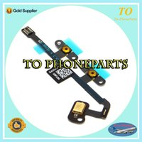 air switch button - 100 for iPad air Volume Switch on off Button Microphone Mic Flex Cable Ribbon repair parts replacement