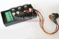 Wholesale New PWM HHO RC Controller DC Motor Speed Control with Extension Cord V A W