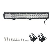 auto car light used - 1 W Mixing K CREE LED Double lines work light Bar DIY used in Car Boat Auto headlight JTCL207 ly