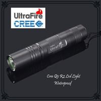Wholesale Mini UltraFire S5 CREE Q5 R2 LED Flashlight W Lumens Torch light For x18650 Batteries