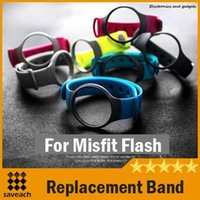 band misfits - Colorful Replacement Band for Misfit Flash Smartband Smart Wrist Replacement Watchband Activity Bracelet Wrist Strap