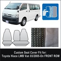 Wholesale Brand New Waterproof Canvas Seat Covers For Toyota Hiace LWB Van On