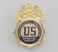 Wholesale US d r u g Enforcement Administration Special Agent Metal Badge DEA REPLICA Metal Badge