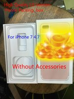 Wholesale 1Pcs High Quality UK us Version Phone Packing Packaging Box For iPhone Without Accessories package box