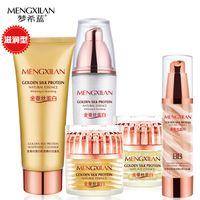 Wholesale MENXILAN Silk Protein Essence Face Cream Face Cream Ageless Eye Anti Wrinkle Acne Treatment Moisturizing Whitening Face Beauty