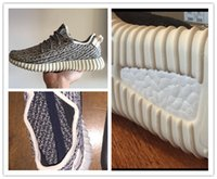 baseball shoes wide - Best Quality Kanye West Running Shoes air Sports Men and Women Boost Sneakers Size US Wide insole