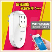 Wholesale Orvibo S20 smart Power plug Wireless WiFi Smart Switch Travel Plug Socket Home Automation EU US UK AU Wall Plug For phone