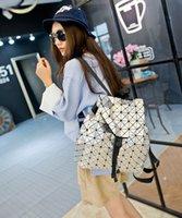 Wholesale Fashion Women s Brand Logo BAOBAO Backpack Geometric Shoulder Bag Student s School Bag Backpack Colors