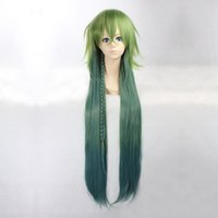 best wig outlet wigs - Ukyo Long Straight Green Heat Resistant Synthetic Hair Cosplay Wig CW07C Amnesia Anime Wigs best wig outlet
