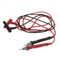 Wholesale 1Pair Hot Worldwide Digital Multimeter Multi Meter Test Lead Probe Wire Pen Cable Universal