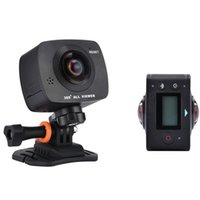 action youtube - New Arrival AMKOV AMK200S dual lens Degree Panorama Camera HD WiFi Sport Camera Action Camera Support VR Youtube