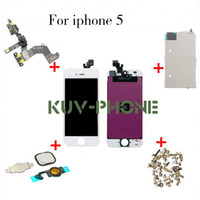 best small cameras - Best quality for iphone G LCD Display Touch Screen Digitizer full set Assembly Small parts home button camera accessories