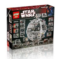 Wholesale NEW LEPIN Star Wars Death Star Building Block Bricks Toys Kits Minifigure Compatible with LEGOe Child Gift
