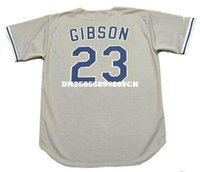 angeles bowls - KIRK GIBSON Los Angeles Dodgers Majestic Throwback Away Baseball Jersey