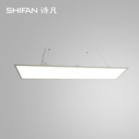 Wholesale super brightness mm W super slim suspended LED flat panel light light efficiency more than lm W