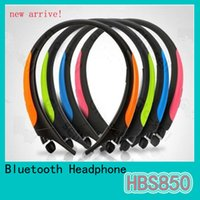 active earbuds - HBS850 Bluetooth Headphones Wireless Sport Headsets LG Tone Active HBS Earbuds For Samsung S7 Iphone s New Earphone Free DHL