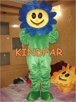 adult sunflower costumes - New SunFlower Sun Flower Mascot Costume Adult SIZE Fancy Dress Cartoon Outfit Suit