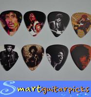 Wholesale 16 Jimi Hendrix Medium mm sides Printing Guitar Picks Plectrums