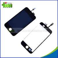 Wholesale 50pcs tested New LCD Display Replacement For iPod Touch Touch Screen Digitizer Assembly for ipod touch free DHL Tim03