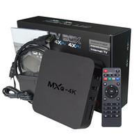 andriod media player - MXQ K Rockchip RK3229 Andriod TV Box Smart IPTV Set Top Boxes MXQ K OTT KODI HD Media Player Remote Control VS MXQ