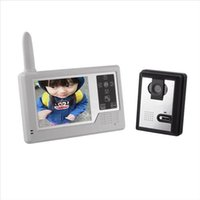 Wholesale Wireless GHz Video Door Phone Camera With Inch Touch Screen Monitor