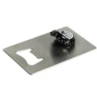 Wholesale Creative Credit Card Bottle Opener for Your Wallet Personalized Stainless Steel Opener