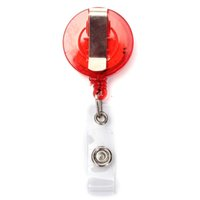 Wholesale Hot sales Excellent Quality Fashion Retractable Pull Chain Badge Pass ID Card Holder Reel Recoil Key Ring Belt Clip