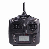 Wholesale Walkera DEVO E G CH DSSS Radio Control Transmitter for RC Helicopter Airplane Model RM591