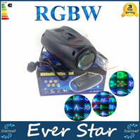 Wholesale AC V V Sound actived Led RGBW Disco Stage Light Magic Pattern Change DJ Lighting Effect for Party Show